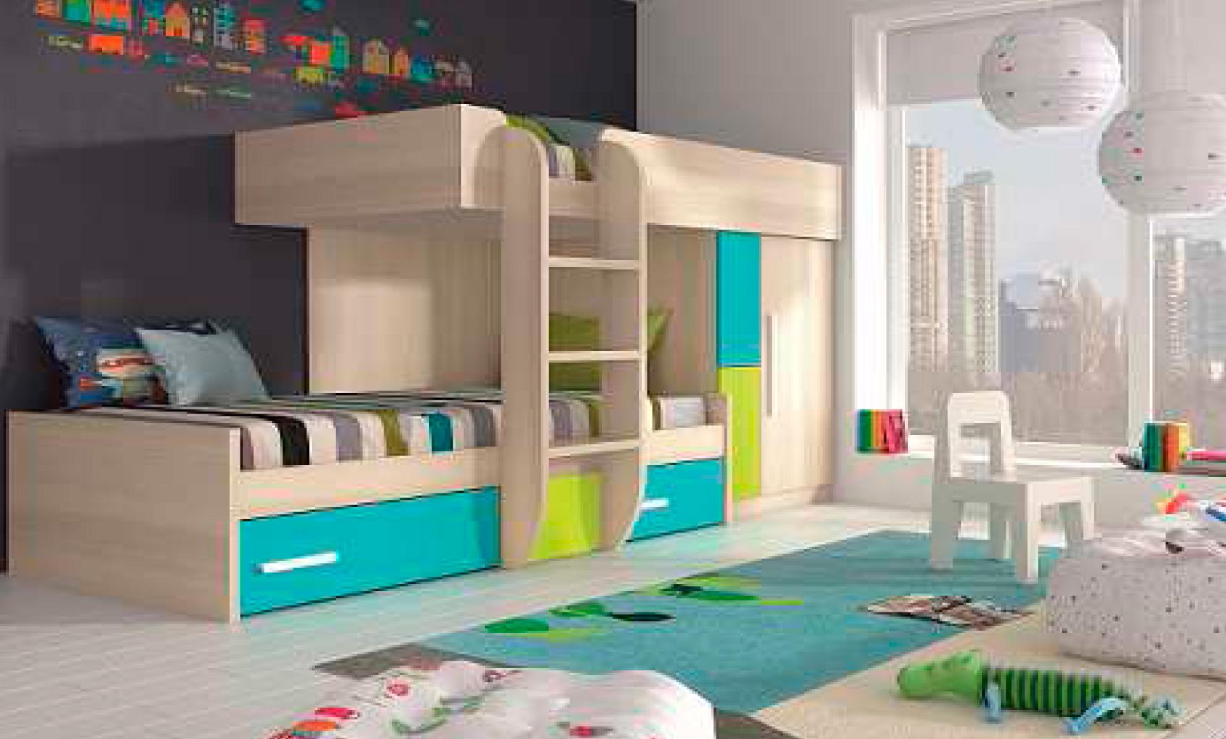 Dormitorio juvenil enjoy2 dormitorios juveniles daicarmobel for Composicion dormitorio juvenil