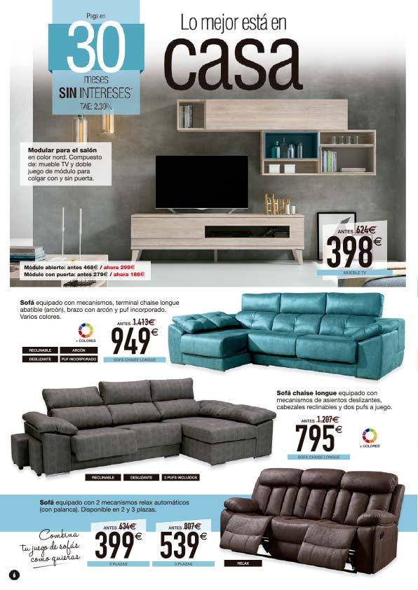 Lo mejor esta en casa 6 muebles tiendas de muebles en for Muebles daicar