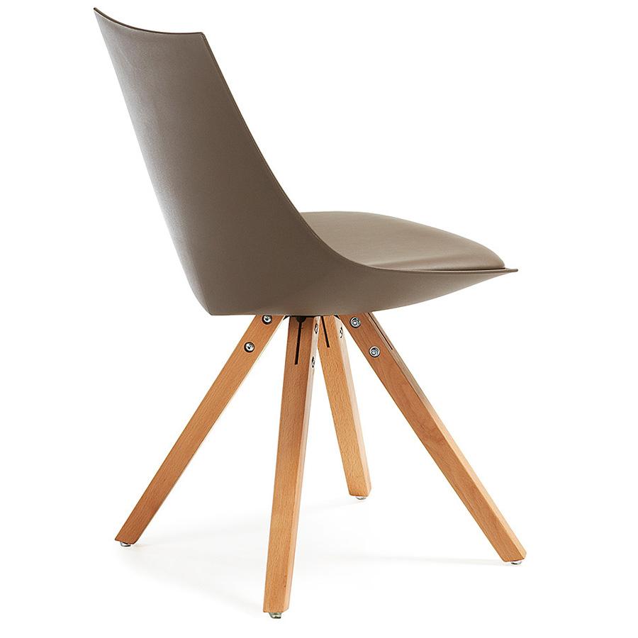 Silla armonia marron2 muebles tiendas de muebles en for Muebles daicar