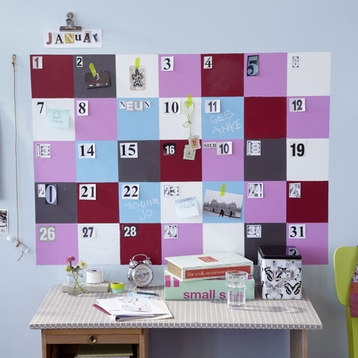DIY: Un Calendario de pared