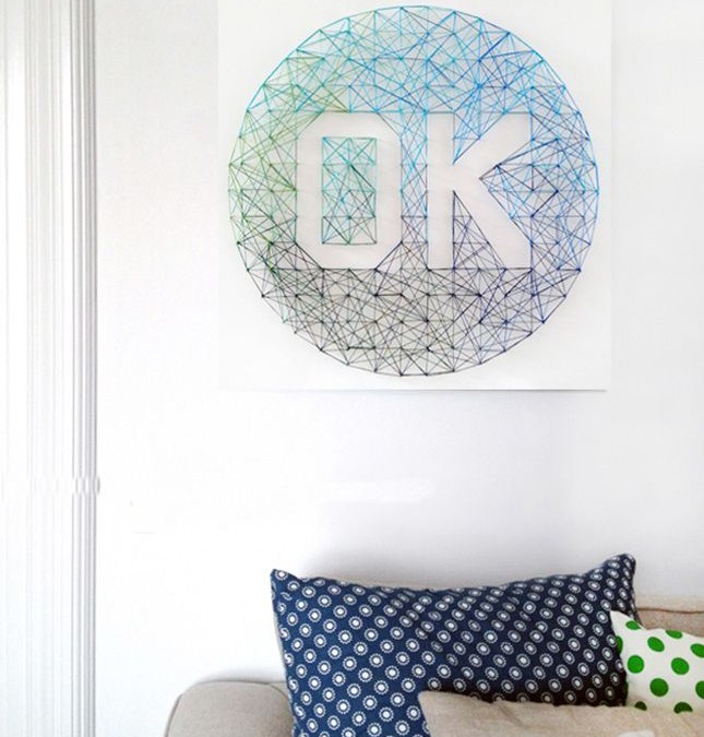 DIY: Decora tus paredes con obras de arte caseras