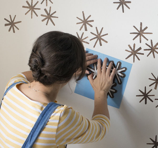DIY – Cómo pintar una pared con estarcido