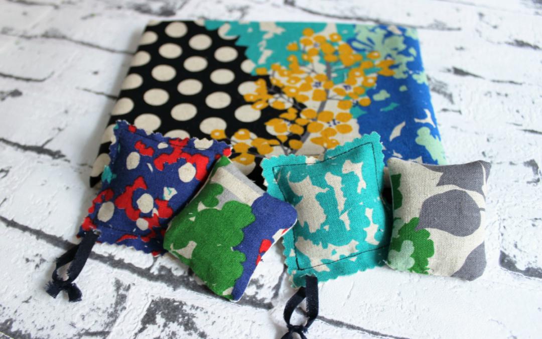 DIY:Cómo hacer bolsitas de tela con olor para decorar el hogar