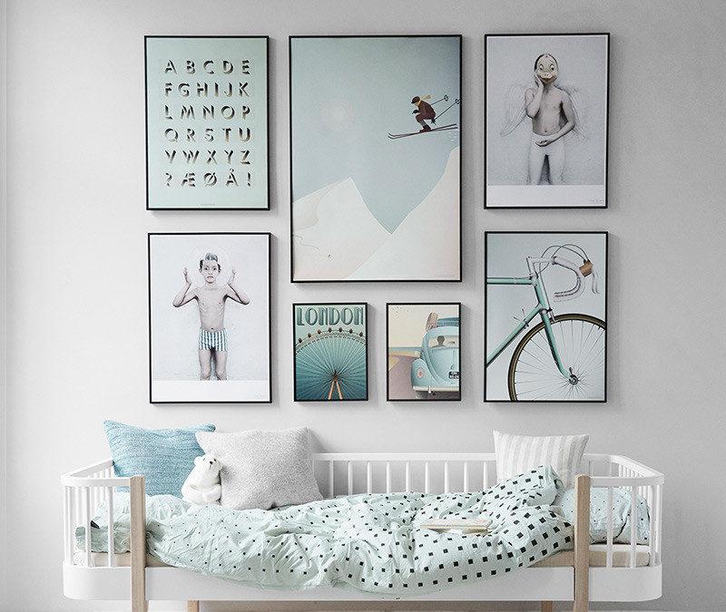 Diferentes maneras de colgar cuadros en tu casa