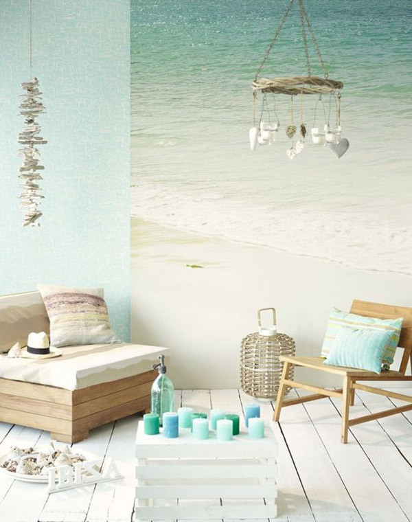 Decoracin marinera azules y verdes Muebles Tiendas de Muebles