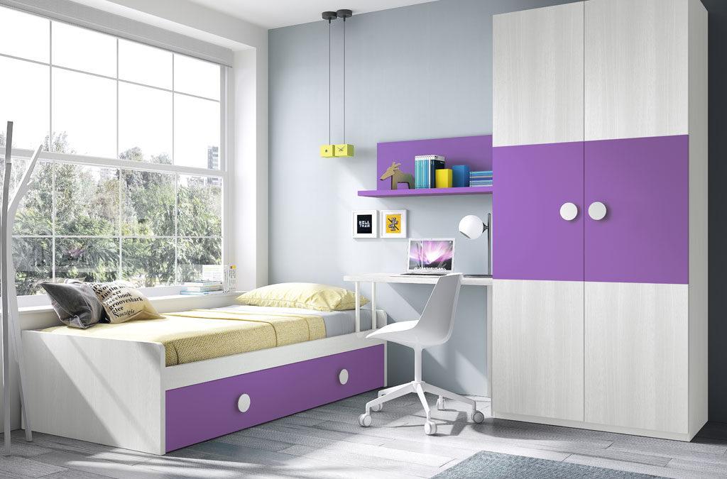 Habitaciones juveniles un mundo de color para los ni os - Habitaciones modulares juveniles ...