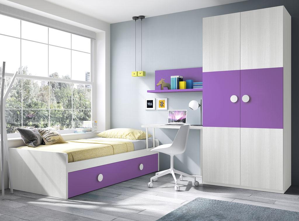 Habitaciones juveniles un mundo de color para los ni os - Imagenes para dormitorios ...