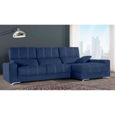 Sofa-Chaise-Longue-Blue