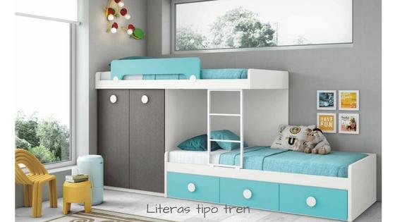 Dormitorios juveniles con literas la soluci n m s - Habitaciones con literas juveniles ...