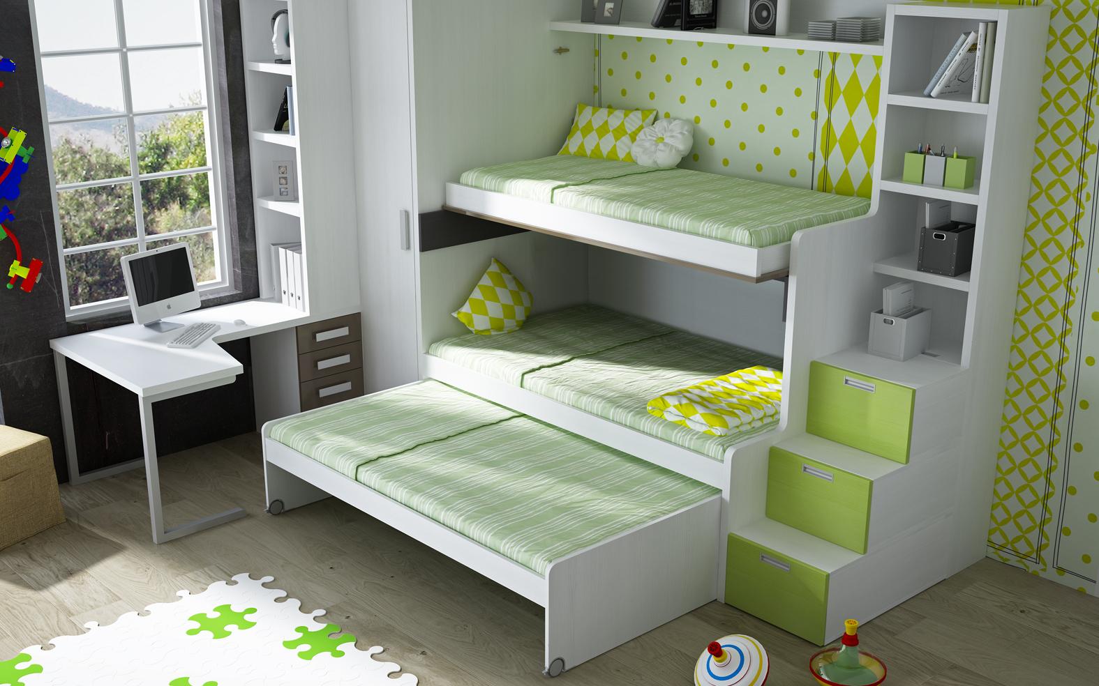 Literas muebles tiendas de muebles en lleida - Literas con armario incorporado ...