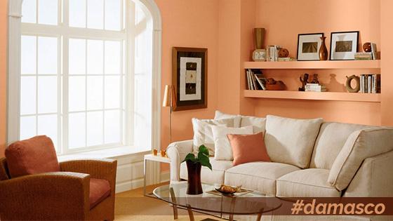 Los colores para decorar tu comedor y sal n este oto o - Colores para pintar living comedor pequenos ...