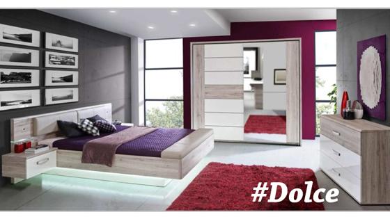 Dormitorio de matrimonio dolce muebles tiendas de for Muebles daicar