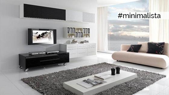 Salón comedor minimalista - Muebles | Tiendas de Muebles en Lleida ...