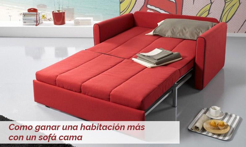 Como ganar una habitaci n m s con un sof cama for Sofa cama decoracion