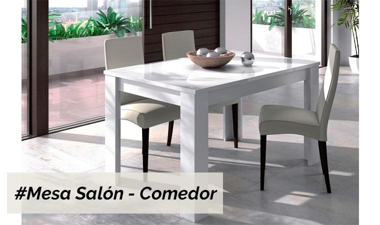 Mobiliario salon comedor great muebles saln piso putxet for Mobiliario salon comedor