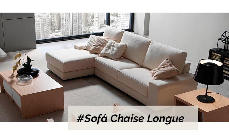 Sofá chaise longue muebles salón - Muebles | Tiendas de Muebles en ...