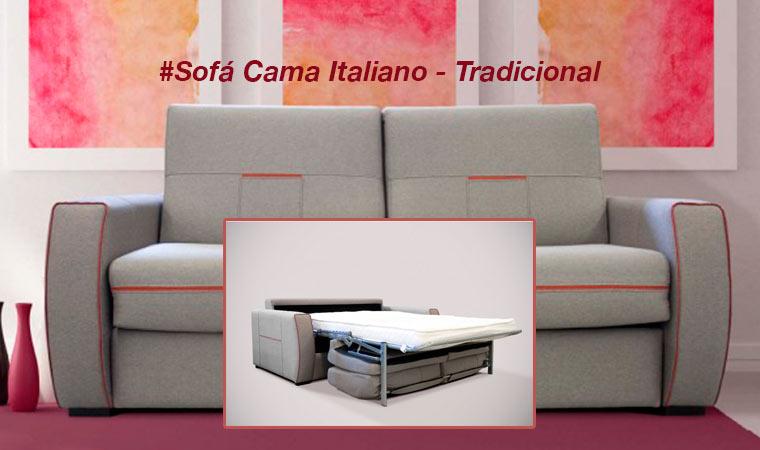 Sofá Cama Italiano Tradicional - Muebles | Tiendas de Muebles en ...