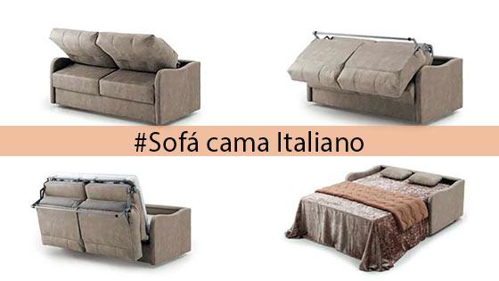 Sofa cama italiano muebles tiendas de muebles en for Sofa cama italiano