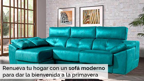 Renueva tu hogar con un sof moderno para dar la for Renueva tu hogar