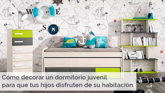 Cómo decorar un dormitorio juvenil para que tus hijos disfruten de su habitación