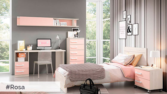 Color rosa muebles tiendas de muebles en lleida for Muebles daicar