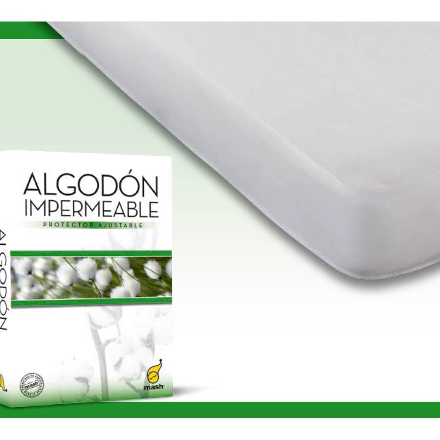 Funda Colchón Algodón Impermeable
