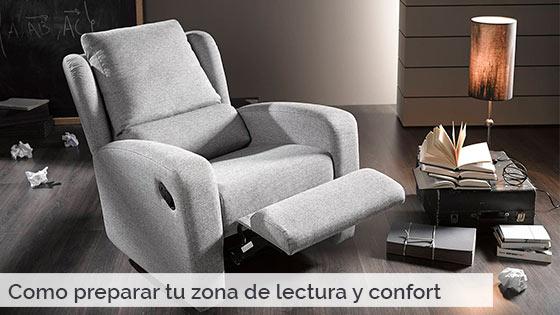 Cómo preparar tu zona de lectura y confort