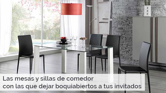 Las mesas y sillas de comedor con las que dejar boquiabiertos a tus invitados