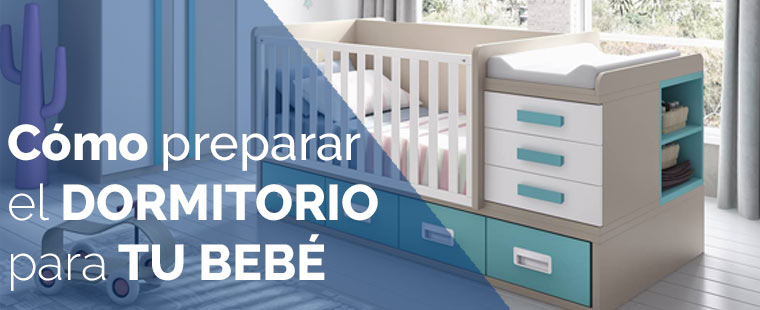 Cómo preparar el dormitorio para tu bebé