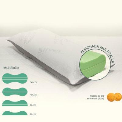 Almohada Multitalla