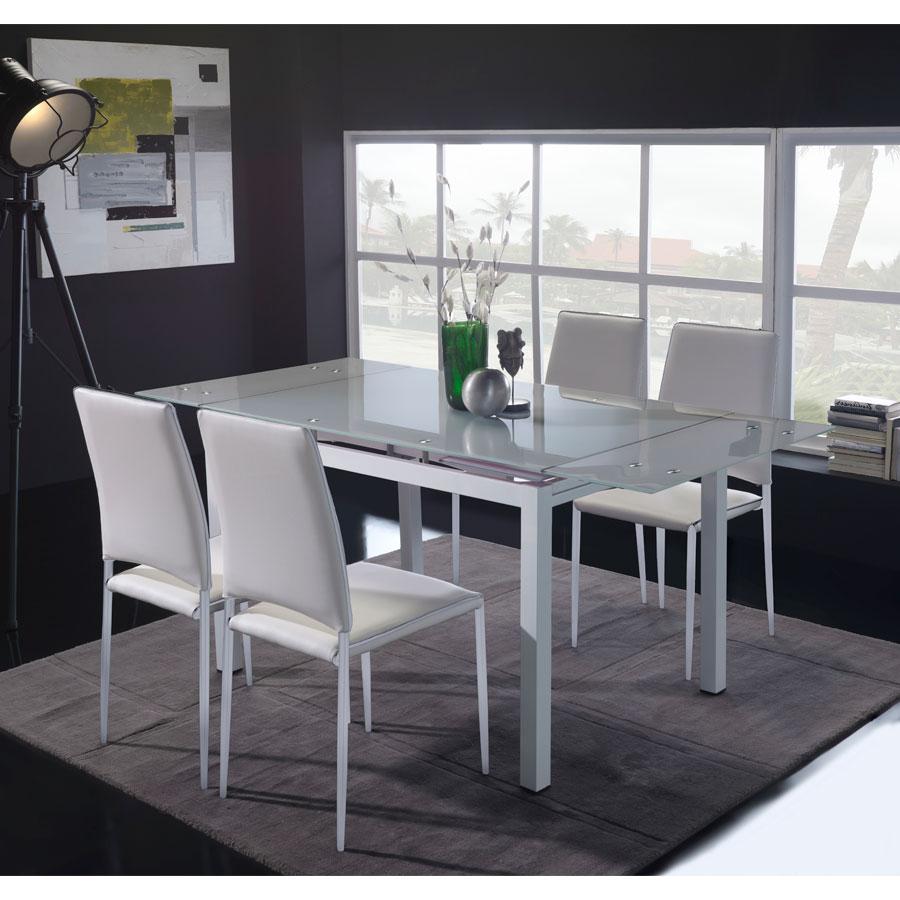 Mesa sal n comedor anais elegante para acoger a tus invitados for Mesa salon comedor