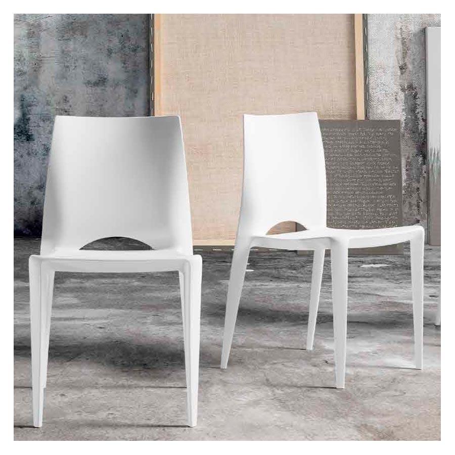 Silla Salón Comedor Y32, sencilla y moderna silla apilable
