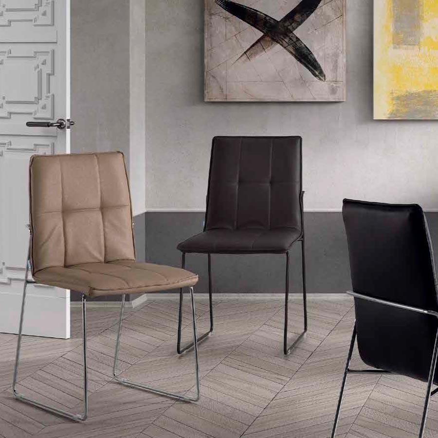 Silla Salón Comedor Y58, diseño elegante y cómodo para tu hogar