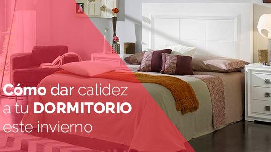 Cómo dar calidez a tu dormitorio este invierno