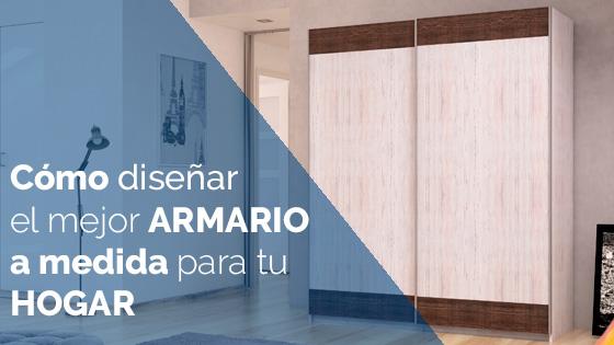 C mo dise ar el mejor armario a medida para tu hogar - Disenar muebles a medida ...