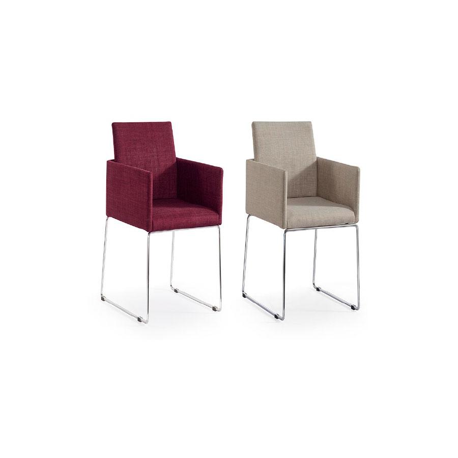 Sillas comedor con brazos affordable silla moderna for Muebles daicar