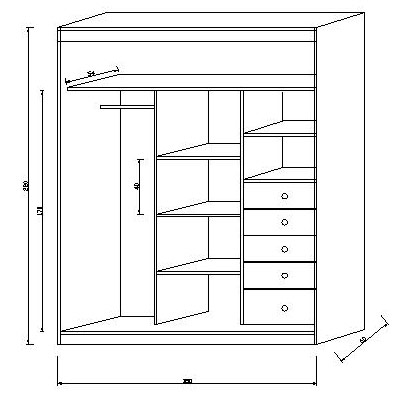 C mo dise ar el mejor armario a medida para tu hogar - Disenar un armario empotrado ...