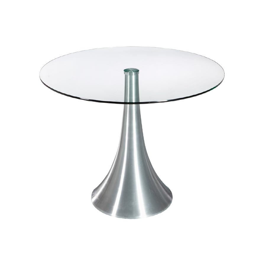 Mesa sal n redonda gala para un sal n elegante y moderno Mesa salon redonda