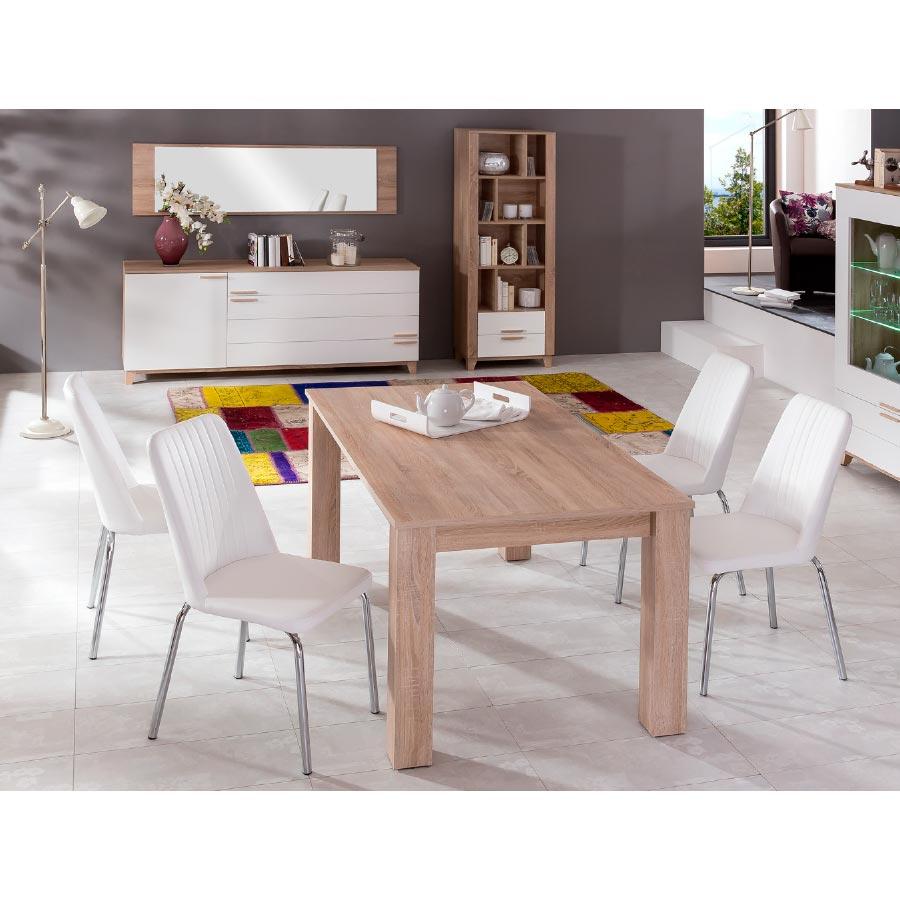Mesa Salón Comedor Bomba, extensible y funcional para tu comedor