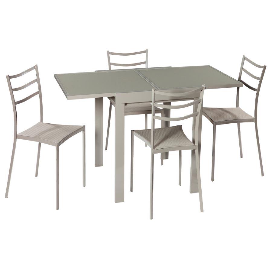 Set Mesa y 4 Sillas Cocina Comedor Grek