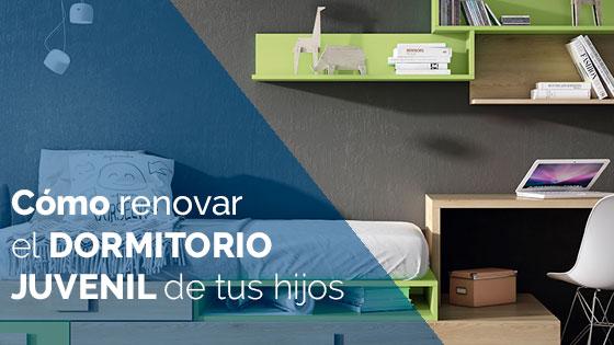 Cómo renovar el dormitorio juvenil de tus hijos