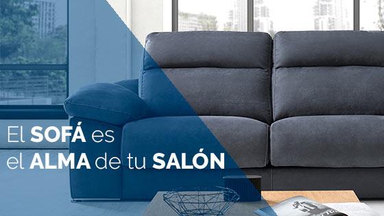 El sofá es el alma de tu salón