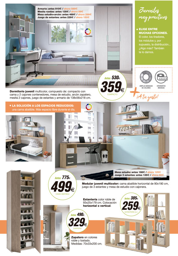 Presume de hogar 5 muebles tiendas de muebles en for Muebles daicar