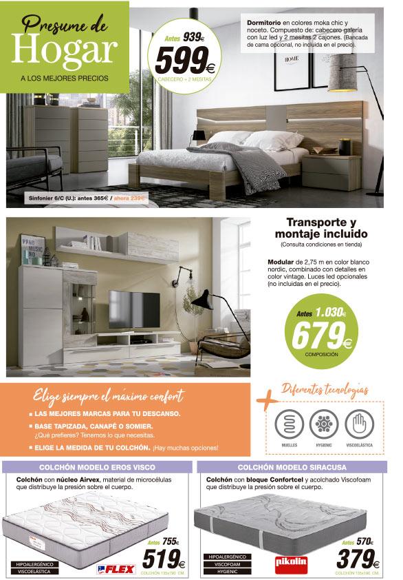 Presume de hogar 6 muebles tiendas de muebles en for Muebles daicar
