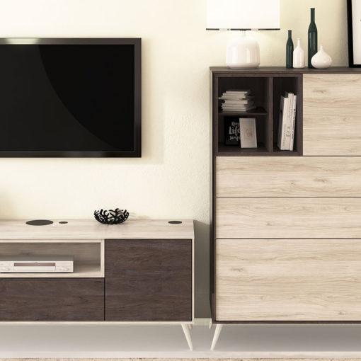 Salon-Floky-Tv-Aparador-patas-madera-detalle