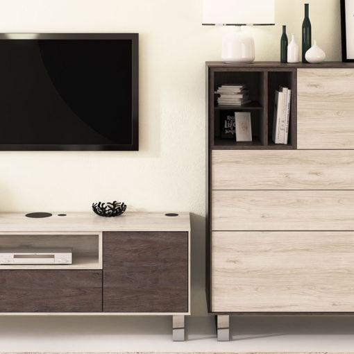 Salon-Floky-Tv-Aparador-patas-metalicas-detalle