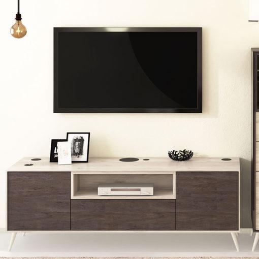 Salon-Floky-Tv-patas-madera
