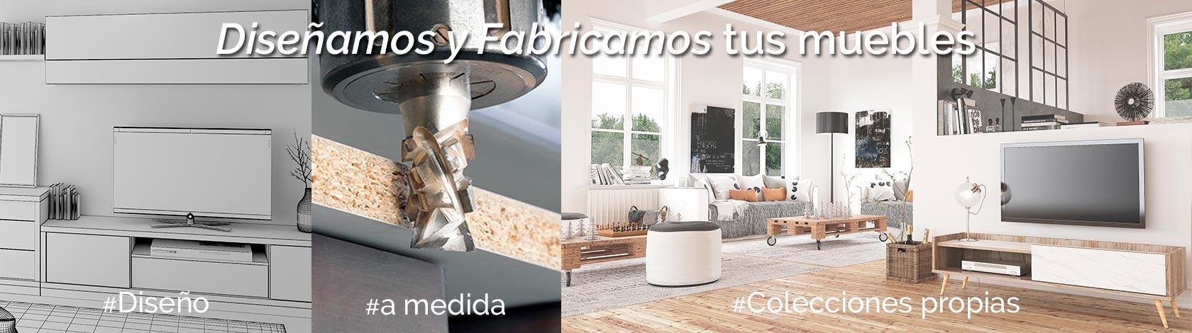 Diseñamos y fabricamos muebles
